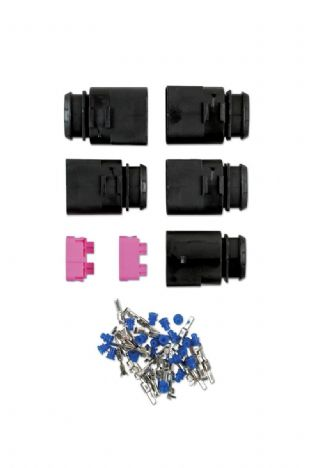 Connect 37382 VW Electrical Male Connector 2.8mm 4 Pin Kit 45 Pieces